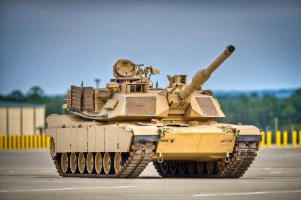 Tank Abrams.