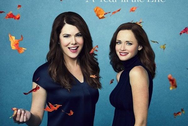 Nové plagáty k seriálu ukazujú Ženy z rodu Gilmorovcov v štyroch ročných obdobiach.