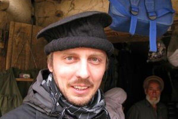Michal Hvorecký v Afganistane.