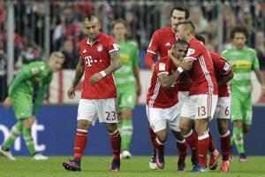 Bayern hladko porazil Monchengladbach.