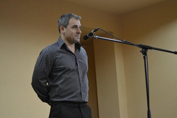 Filip Tůma na vystúpení v Tatranskej Štrbe.