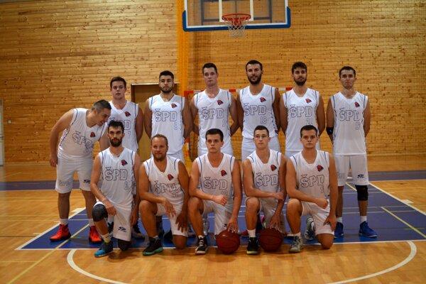 Basketbalisti ŠPD Rožňava.