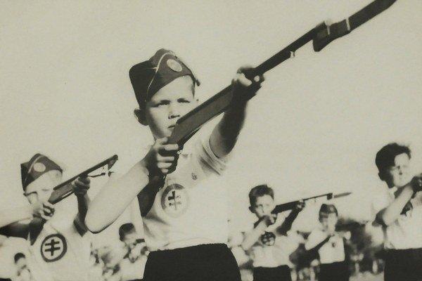 Propaganda vojnového štátu mierila aj na najmenšie deti.