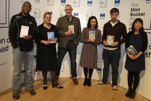 Na Man Bookerovu cenu bolo nominovaných šesť autorov.