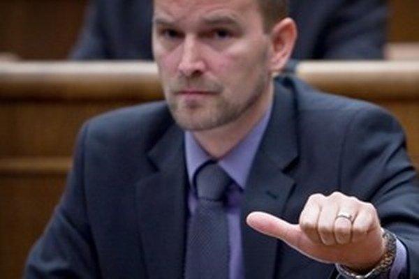 Poslanec Jozef Viskupič.