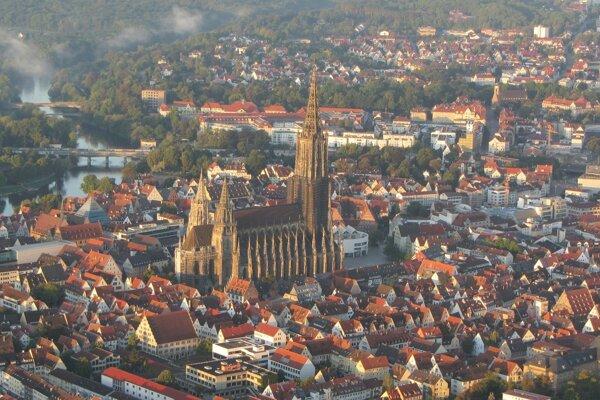 Dóm v nemeckom Ulme.