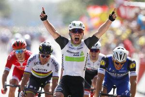 Mark Cavendish vyhral tento rok na Tour de France štyri etapy.