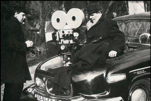 Nakrúcanie jazdy na aute v minulosti.