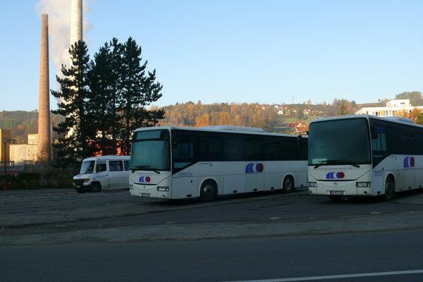 Autobusová stanica.