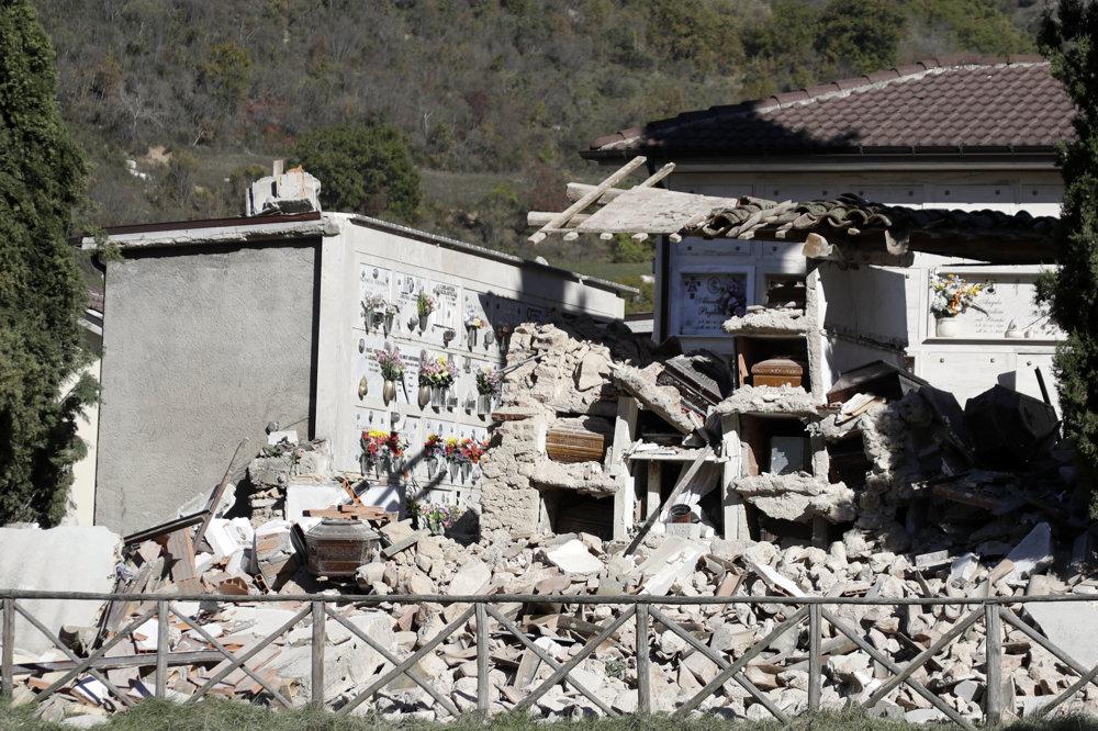 Cintorín patrí medzi najviac zničené budovy v meste.