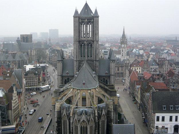 Katedrála sv. Bava v belgickom Gente.