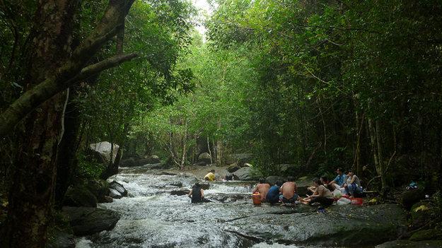 V lesoch ostrova Phu Quoc možno zažiť jedinečnú turistiku.