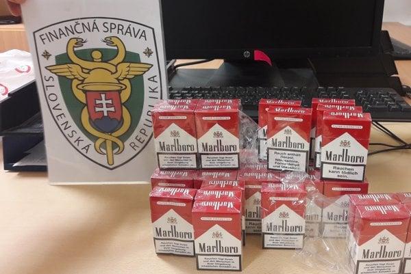 Cigarety nemali kontrolnú známku