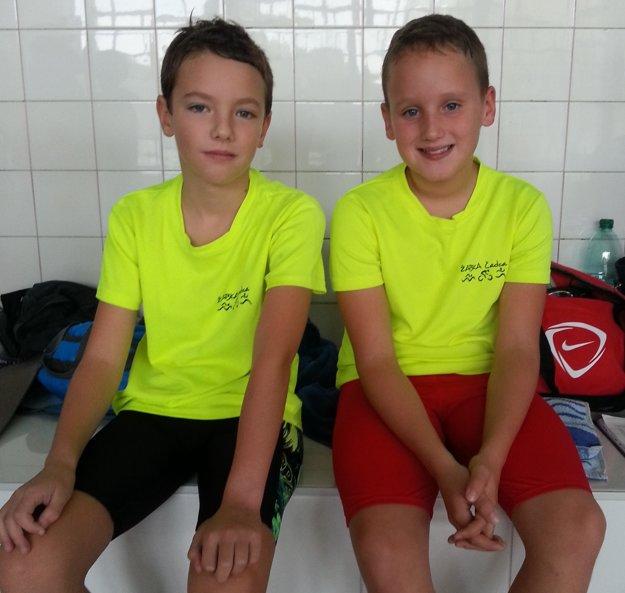 Jakub Adamove a Alex Maták.