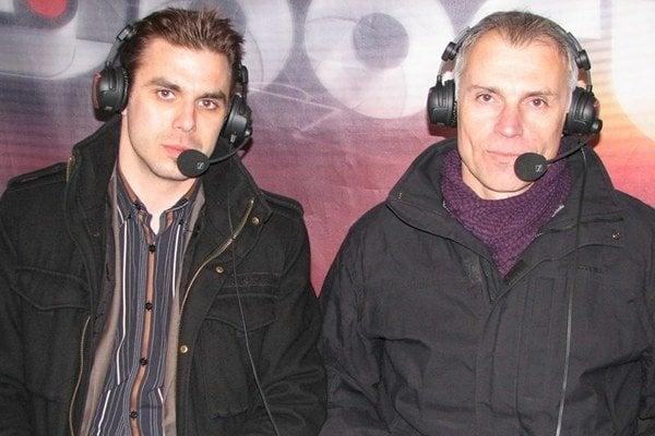 Juraj Kušnír (vľavo).