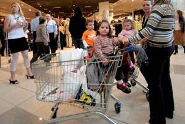Rodinných nákupov v obchodných centrách spojených s obedom a návštevou kina sa vzdať nemusíme, ale mali by sme ich vyvážiť napríklad pohybovými aktivitami v prírode.