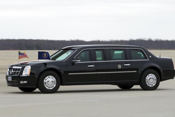 """Cadillac One alebo """"The Beast"""", služobné auto Baracka Obamu."""