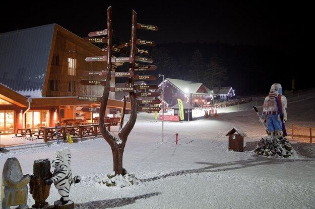 Snowland vo Valčianskej doline.