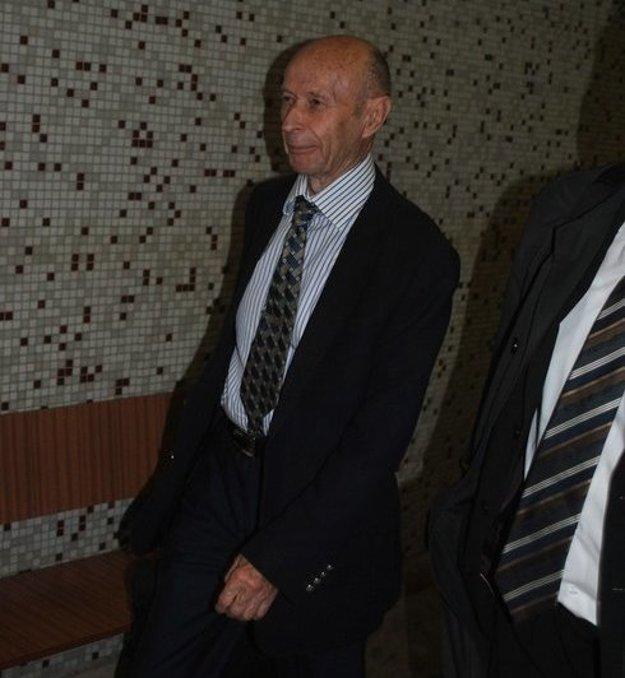 Milan Polončák na okresnom súde.
