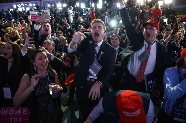 Bujará nálada v tábore republikánov.