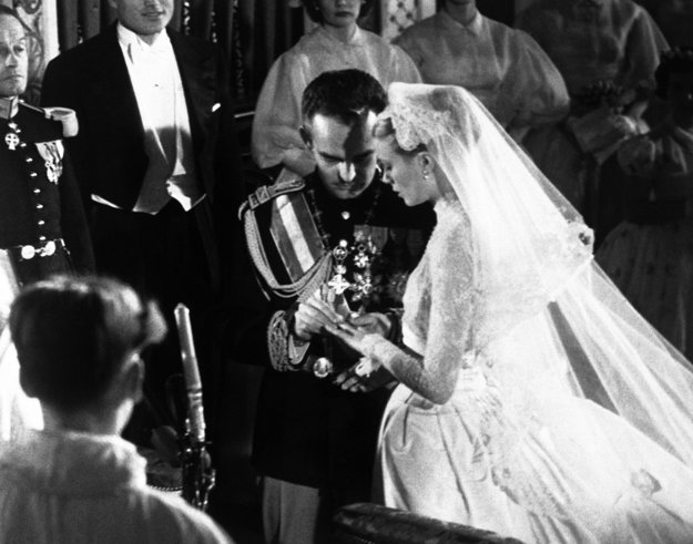 Svadba Grace Kelly a knieža Rainiera
