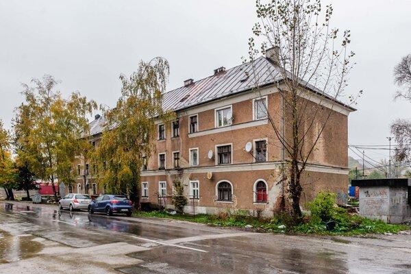 Bytovka na Bratislavskej.