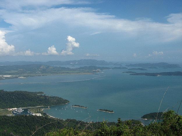 Súostrovie Langkawi, Malajzia.