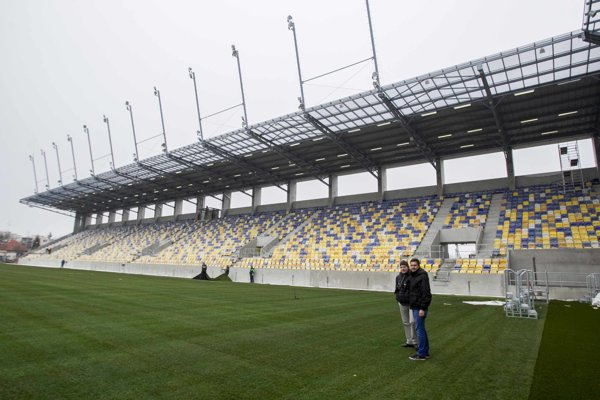 Štadión v Dunajskej Strede.
