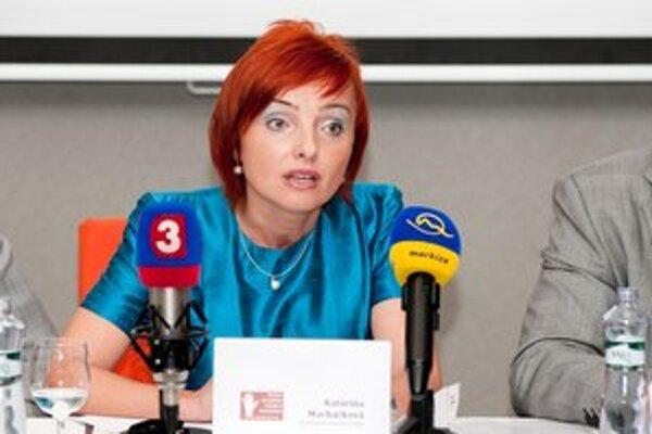 Primátorka Prievidze Katarína Macháčková.