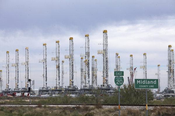 Ropné ložisko v oblasti Wolfcamp v Severnej Dakote (ilustračné foto).
