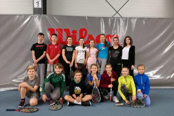 V Banskej Bystrici. Mladí športovci ZŠ Mierová Svit.