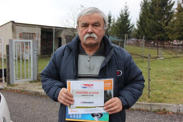 Víťaz Jozef Závadský.
