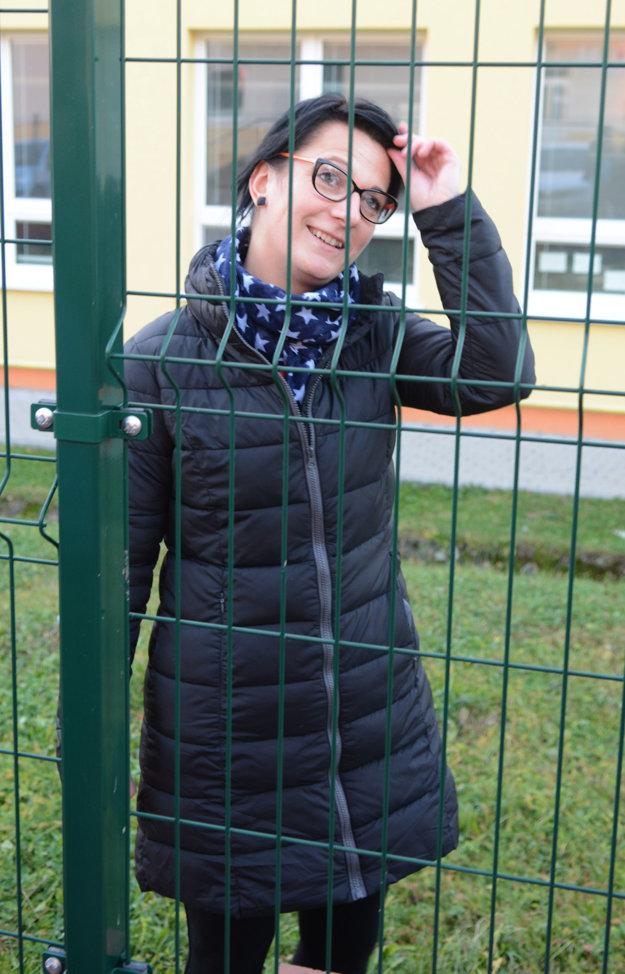 Suseda. Elena Janočková je rada, že si to odniesli len čižmy.