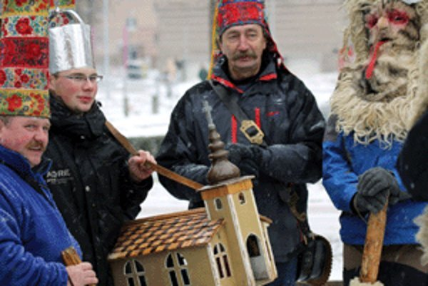 Betlehemci z Kokavy nad Rimavicou.
