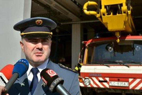 Šéf hasičov Alexander Nejedlý.
