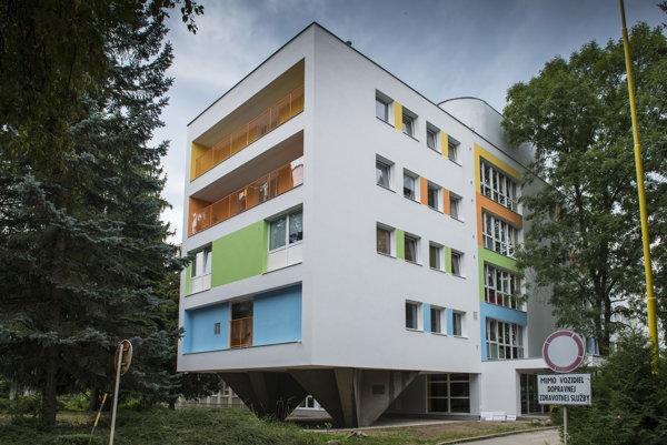 Po päťdesiatich rokoch je žilinská pediatria komplexne zrekonštruovaná.