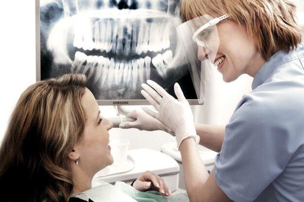 U zubára.