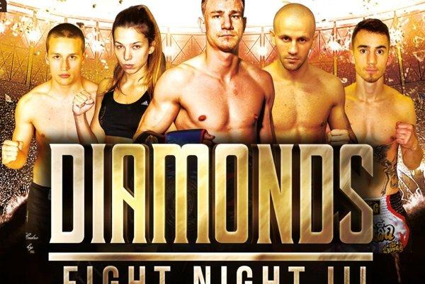 MIKULÁŠ  Diamond Fight Night  sa uskutoční v sobotu 26. novembra o 18. hodine v Liptov Aréne neďaleko akvaparku v Liptovskom Mikuláši.