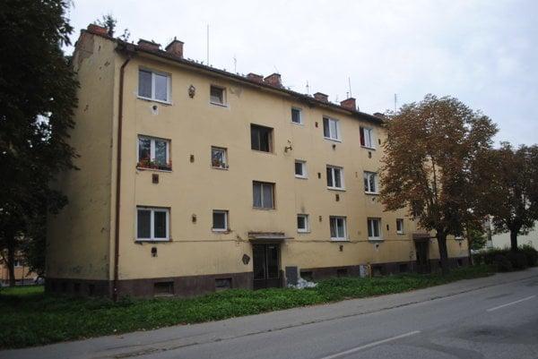 Bytový dom č. 22 a 24 na ulici Tarasa Ševčenka