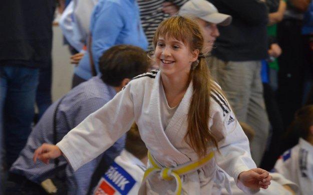 Radosť Niny Hanzlíkovej po dosiahnutí prvenstva.
