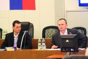 Peter Paška (vpravo) berie rozhodnutie ako satisfakciu.