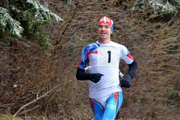 Víťaz pretekov Ivan Pavlík.