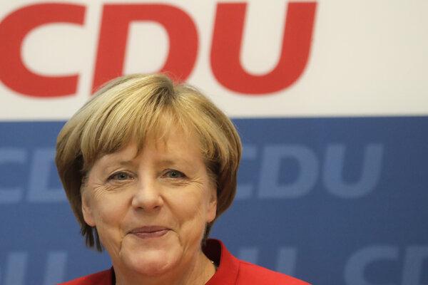 Agela Merkelová.