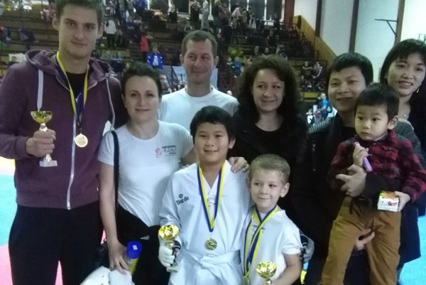 Výprava Taekwondo Hakimi na Ilyo Cupe.