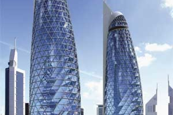 Aj keď najviac budov v Dubaji stavia štát, investície cez súkromné spoločnosti naberajú na význame – apartmánový projekt Lotus DAMAC Properties Co. L.L.C.