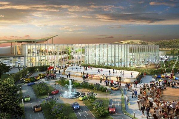 Bory Mall menia okolie Devínskej Novej Vsi aj Lamača.