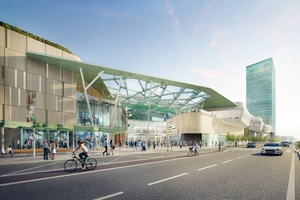 Nová zóna musí byť kapacitne vybavená tak, aby dokázala obslúžiť desaťtisíce cestujúcich, tisícky bývajúcich a desiatky tisíc zamestnancov z priľahlého biznis dištriktu.