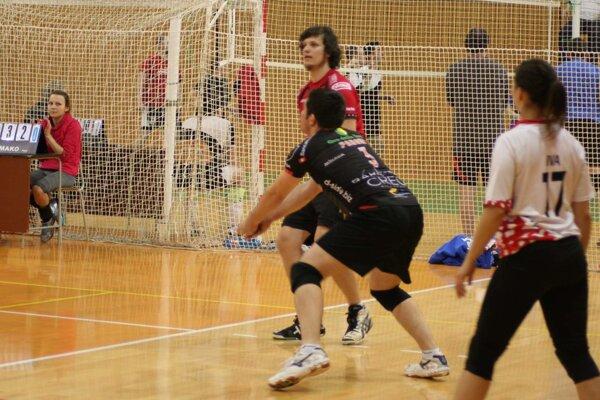 Hráči BVC Čadca v akcii.