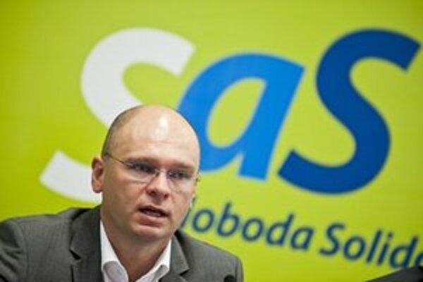 Predseda strany Richard Sulík.