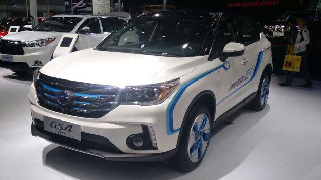Guangzhou Auto Trumpchi GS4 EV.